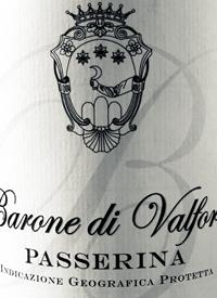 Barone di Valforte Passerinatext