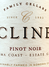 Cline Family Cellars Pinot Noirtext