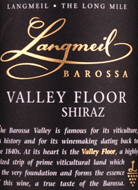 Langmeil Shiraz Valley Floortext