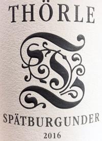 Thorle Spatburgundertext