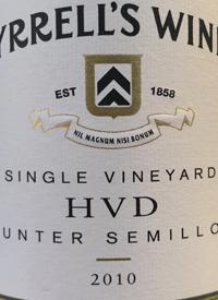 Tyrrell's HVD Single Vineyard Hunter Semillon