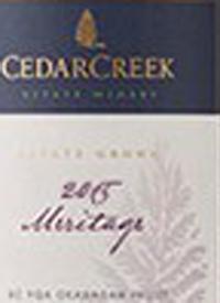 CedarCreek Meritagetext