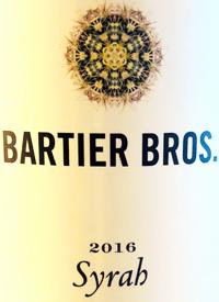 Bartier Bros. Syrah Cerqueira Vineyardtext