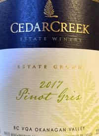 CedarCreek Pinot Gristext