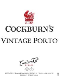 Cockburn's Vintage Porttext