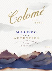 Colomé Malbec Autentico