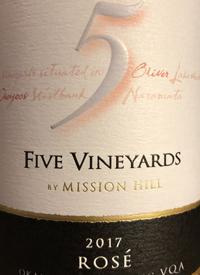 Mission Hill Five Vineyards Rosétext