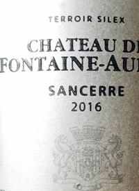 Langlois Chateau de Fontaine-Audon Sancerre
