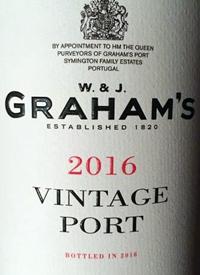 Graham's Vintage Porttext