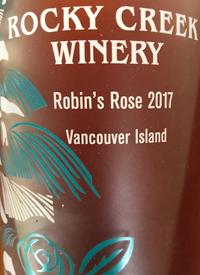 Rocky Creek Robin's Rosétext