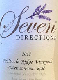 Seven Directions Fruitvale Ridge Vineyard Cabernet Franc Rosé
