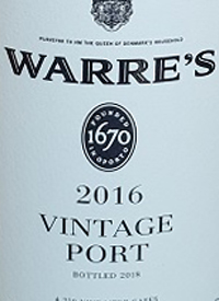 Warre's Vintage Porttext