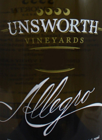Unsworth Vineyards Allegro