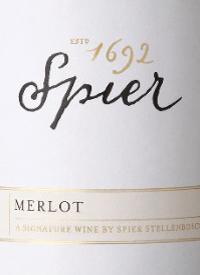 Spier Merlot Signature Collection