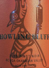 Howling Bluff Pinot Noir Acta Vineyard