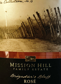 Mission Hill Terroir Collection No.19 Early Morning Brigadier's Bluff Rosétext