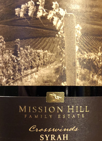 Mission Hill Terroir Collection No. 23 Crosswinds Syrah
