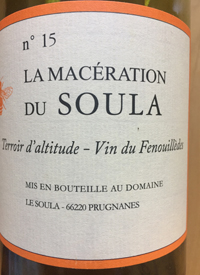 Le Soula No 15 La Macération du Soula