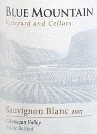 Blue Mountain Sauvignon Blanctext