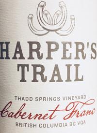 Harper's Trail Thadd Springs Vineyard Cabernet Franctext