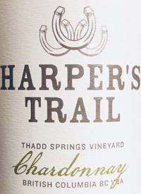 Harper's Trail Chardonnay Thad Springs Vineyardtext