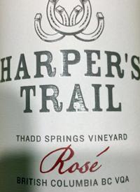 Harper's Trail Rosé Thad Springs Vineyardtext