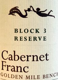 Hester Creek Block 3 Reserve Cabernet Franc