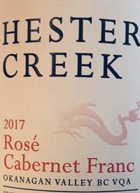 Hester Creek Rosé Cabernet Franctext