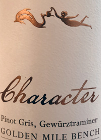 Hester Creek Character Pinot Gris Gewurztraminertext