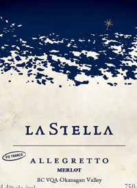 LaStella Allegretto Merlot Pie Franco
