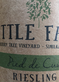 Little Farm Winery Pied de Cuve Riesling