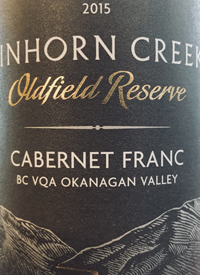 Tinhorn Creek Oldfield Reserve Cabernet Franc