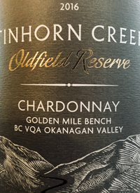 Tinhorn Creek Oldfield Reserve Chardonnaytext