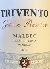 Trivento Golden Reserve Malbectext
