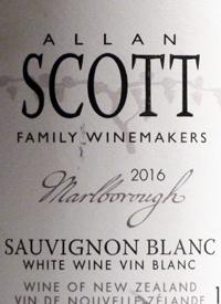 Allan Scott Family Winemakers Sauvignon Blanctext