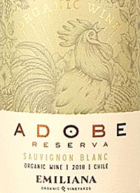 Emiliana Adobe Sauvignon Blanc Reserva Orgánicotext