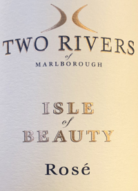 Two Rivers of Marlborough Isle of Beauty Rosétext