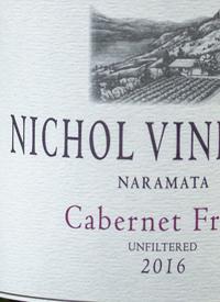 Nichol Vineyard Cabernet Franctext