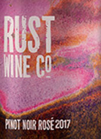 Rust Wine Co. Pinot Noir Rosétext