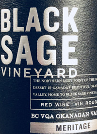 Black Sage Vineyard Meritagetext