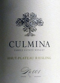 Culmina Family Estate Susser Riesling No. 005text