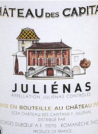 Georges Duboeuf Chateau des Capitans Julienastext
