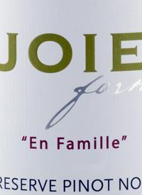 JoieFarm En Famille Reserve Pinot Noirtext