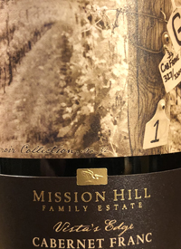 Mission Hill Terroir Collection No. 32 Vista's Edgetext
