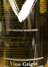 Van Westen Vineyards Vino Grigiotext