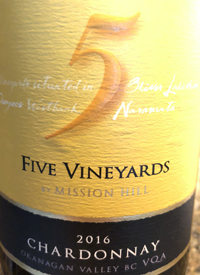 Five Vineyards by Mission Hill Chardonnaytext