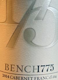 Bench 1775 Cabernet Franc cl 214text