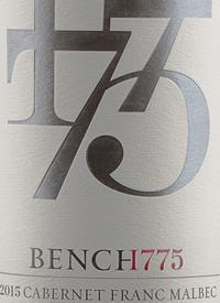 Bench 1775 Cabernet Franc Malbec