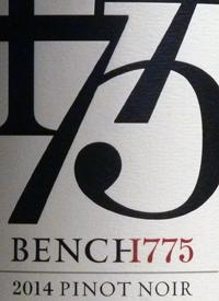 Bench 1775 Pinot Noir