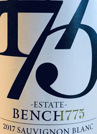 Bench 1775 Estate Sauvignon Blanctext